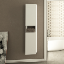 Eka Twin Bathroom High Cabinet