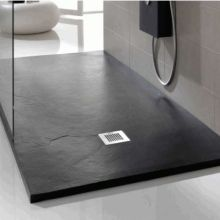 Luxurious Black Shower Tray Pietra