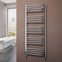 Roberta М Chrome Bathroom Heating Rail
