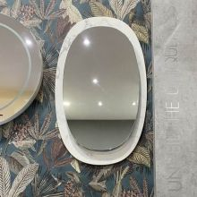 Allure Mirror with Marble Base