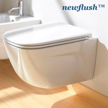 Hung Toilet New Light Neflush