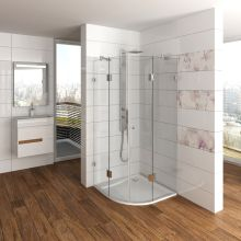 Ovale+ Glass Shower Enclosure