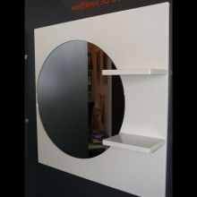 Optima Lita Mirror with Shelves