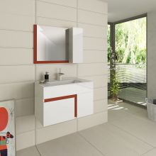Optima Kara Mirrored Cabinet