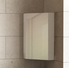 Optima Dolce Corner Mirrored Cabinet