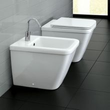 Back to Wall Bidet Erika PRO Q 53
