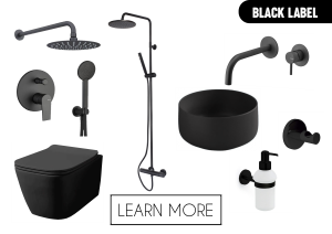BLACK BATHROOM FAUCETS SANITARY
