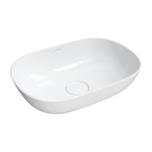 Silk 50 Sit-on Washbasin