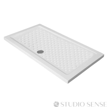 Поддушово корито Porcelain Rectangular Flat