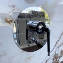 O'Rama Chrome&Black Wall Shower/Bath Mixer